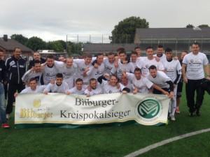 Der SV Nierfeld ist erneut Kreispokalsieger